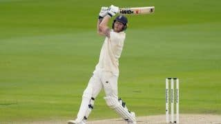 Ben stokes tops list in most sixes in test cricket among current players rohit sharma is at number 5 4089926