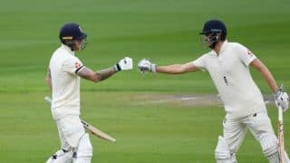 Eng vs wi 2nd test day 1 ben stokes dominic sibley guide england to 207 3 4087027