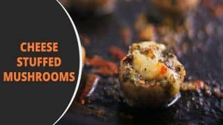 Cheese Stuffed Mushrooms Recipe: In The Mood For Some Italian Food? Check Out This Appetiser