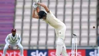 England vs west indies 1st test rory burns joe denly guide england to 35 1 in rain affected day 1 4079311