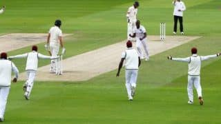 Eng vs wi 3rd test lunch report england loose 2 wicket in 1st session 4093369
