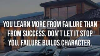 Thursday Motivation: So What if You Fail? Success is Not Final, Failure is Not Fatal