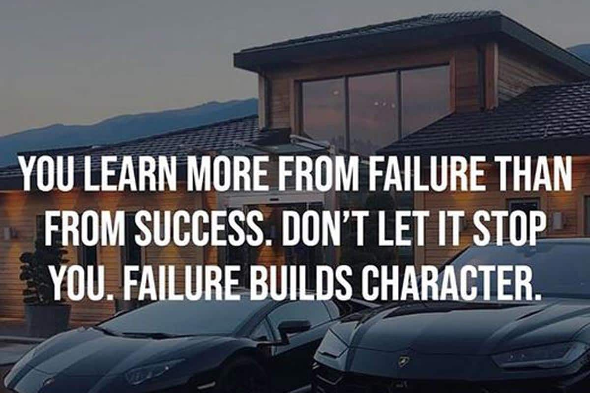 Thursday Motivation So What If You Fail Success Is Not Final Failure Is Not Fatal