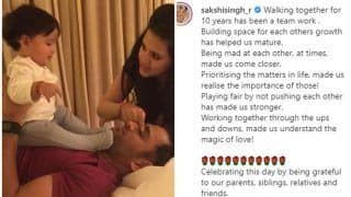 MS Dhoni's Wife Sakshi Pens Heartfelt Message For Fans as Power Couple Complete a Decade of Togetherness | SEE POST