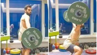 WATCH | Kohli Performs Power Snatch, Adds Punjabi Takda to it