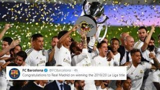 Real Madrid Clinch 34th LaLiga Title, Twitter Hails Spanish Champions | SEE POSTS