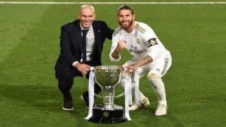 Real Madrid Seal 34th LaLiga Crown, Sergio Ramos Praises Zinedine Zidane | WATCH