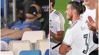 Gareth Bale Trolled For Awkward Reaction During Celebration After Real Madrid Seal 34th LaLiga Title | SEE POSTS