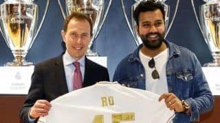 Real Madrid Fan Rohit Sharma Congratulates Zinedine Zidane's Side After They Seal Record 34th LaLiga Title | POST