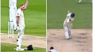Ben Stokes Shocks Himself After Hitting Alzarri Joseph For an Effortless Six During England vs West Indies 2nd Test at Old Trafford | WATCH VIDEO