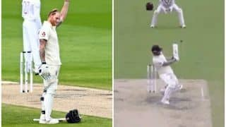 Eng vs WI: Ben Stokes Falls Prey to a Wild Reverse Sweep of Kemar Roach on Day 2, Twitter Reacts | SEE POSTS