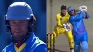 3TC Solidarity Cup: AB de Villiers Smashes Breathtaking 24-Ball 61 as Eagles Clinch Gold | WATCH