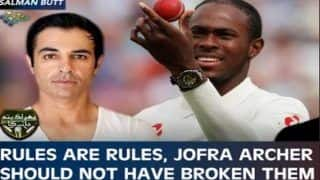 'Jofra Archer Should Not Have Broken The Bio Security Rules': Salman Butt Gets Trolled For Remark | SEE POSTS