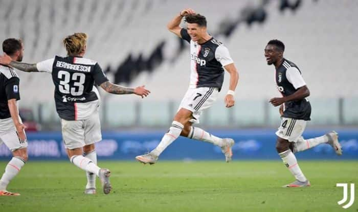 Juventus Vs Sampdoria Cristiano Ronaldo Stars With Brace As Turin Side Seal Ninth Straight Serie A Title Football News