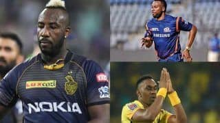 IPL 2020 Updates: Andre Russell, Kieron Pollard, Dwayne Bravo Could Miss Opening Few Matches in IPL 13 in UAE Due to CPL