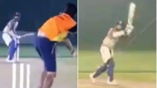 IPL 2020: Shikhar Dhawan Hits Nets as Delhi Capitals Opener Gets Ready For IPL 13 in UAE | WATCH