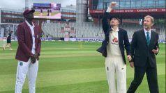 England vs West Indies 2nd Test : वेस्टइंडीज ने टॉस जीतकर चुनी गेंदबाजी, ब्रॉड और रूट की वापसी