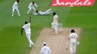 HIGHLIGHTS ENG vs WI 1st Test: Joseph, Gabriel Put West Indies on Top vs England at Stumps on Day 4