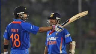 Virat kohli can break sachin tendulkars record of 100 centuries brad hogg 4076361