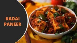 Kadai Paneer Recipe: Follow These Easy Steps on How to Make This Dhaba Style Dish at Home