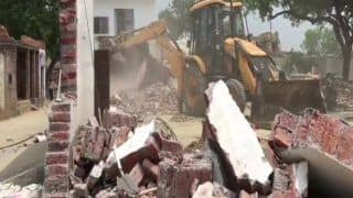 Kanpur Encounter: Gangster Vikas Dubey's House Demolished; Station Officer Suspended Over Alleged Role in Cops' Killing