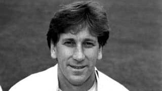On this day in 1996 englands kevan james takes four wickets in four balls and scores century against india in first class match