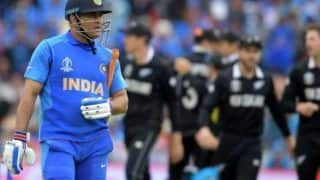 On this day in 2019 new zealand beat india in world cup semi final ms dhoni complete 1 year to remain absent from international cricket 4079980