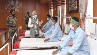 Galwan Clash: 'Will Never Bow Down to Any World Power', PM Modi After Meeting Injured Soldiers at Leh Hospital