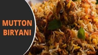 Mutton Biryani Recipe: Just Follow The Given Steps to Make This Delicious Dish at Home