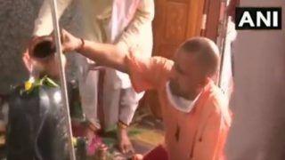 महादेव की भक्ति में तल्लीन हुए यूपी के सीएम योगी आदित्यनाथ, किया दुग्धाभिषेक, जानें क्या है वजह