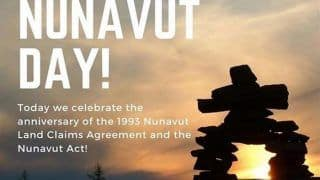 Nunavut Day 2020: What The Day is All About And Why it is Celebrated in Canada