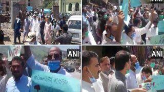 पीओके में चीन और पाकिस्तान के खिलाफ उतरे लोगों ने किया विरोध प्रदर्शन