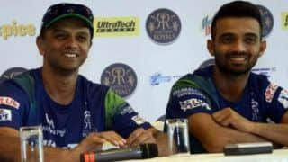 Rahul bhai told me not to bother whether shot looks bad from outside ajinkya rahane 4082666