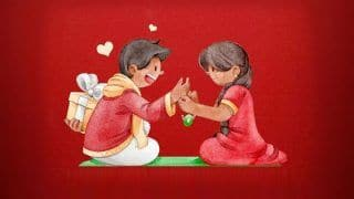 Raksha Bandhan 2020 Wishes: Quotes, WhatsApp Status Messages And Greetings to Share on This Day