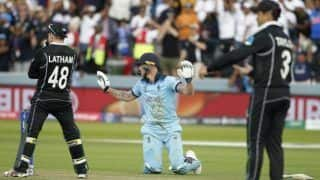 विश्व कप सुपर ओवर से पहले तनाव कम करने के लिए बेन स्टोक्स ने लिया था 'सिगरेट ब्रेक'