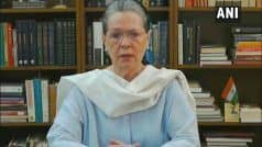 'No Freedom to Write, Question or Disagree', Says Sonia; Accuses Centre of Being 'Undemocratic'