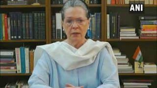 'No Freedom to Write, Question or Disagree', Says Sonia Gandhi; Accuses Centre of Being 'Undemocratic'