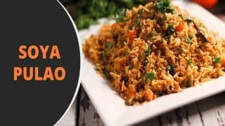 Soya Pulao Recipe: Learn How to Make This Tasty And Healthy Dish at Home