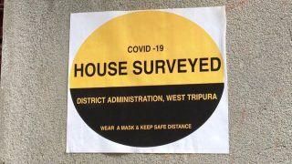 Tripura Lockdown News: Amid 3-Day Full Shutdown, Door-to-Door COVID-19 Survey Launched