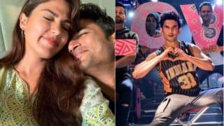 Sushant Singh Rajput's Girlfriend Rhea Chakraborty on Dil Bechara Release: 'The Hero of My Life, I Know You Will be Watching With us'