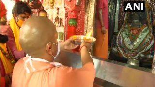 Ahead of 'Bhumi Pujan' For Ram Mandir on August 5, Yogi Adityanath Visits Ayodhya
