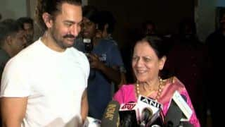 Aamir Khan Confirms Mother Tests COVID-19 Negative, Thanks Fans For Prayers