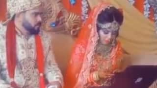 'Workaholic' Bride Captured Working On Laptop On Wedding Day, Ignores Husband | Watch