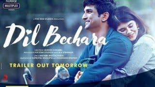 Dil Bechara Trailer Release Date Out: Gear up For Sushant Singh Rajput And Sanjana Sanghi's Emotional Romance