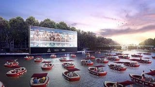 Paris Is Launching a 'Floating Movie Theatre' Where People Can Watch Films Sitting In Socially-Distant Boats