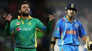 एक बल्लेबाज के तौर पर गौतम गंभीर पसंद हैं लेकिन इंसान के तौर पर नहीं : शाहिद आफरीदी