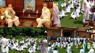 Rajasthan crisis: CM गहलोत ने गवर्नर से की मुलाकात, विधायकों ने राजभवन में लगाए नारे