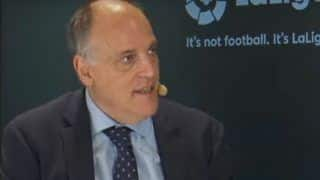 Manchester City Mulling Legal Action Against La Liga Chief Javier Tebas