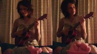 Kalki Koechlin's Daughter Sappho Enjoys Tamil Lullaby With Ukelele - Watch The Cutest Video Here