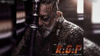 KGF Chapter 2: Sanjay Dutt's Adheera First Look is Inspired by 'Brutal Ways of Vikings'